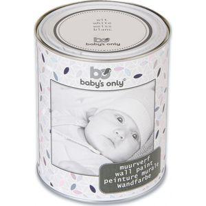 Baby's Only Muurverf 1 Liter-blik Wit