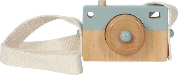 Little Dutch Houten Camera - Blauw