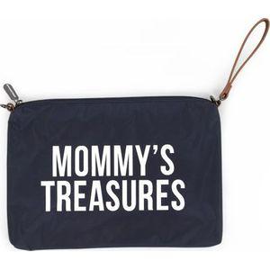 Childhome Mommy Clutch Bag - Navy/White