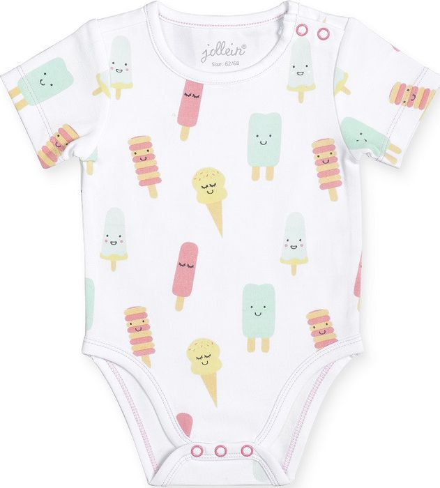 Jollein Romper 50/56 - Happy Icecream