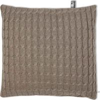 Baby's Only Kussen 40x40cm Kabel Uni Taupe