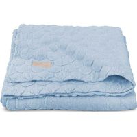Jollein Deken 100x150cm Fancy Knit - Baby Blue
