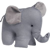 Baby's Only Knuffel Olifant Sparkle - Zilver-Grijs Mêlee