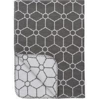 Wiegdeken Honeycomb Grijs 75x100cm - Meyco
