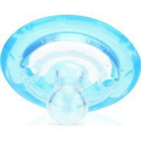 Nuby Fopspeen Natural Flex 6-18m - Blauw (UL)