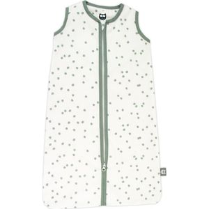Briljant Baby Zomerslaapzak 90cm - Spots Stonegreen