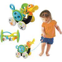 Yookidoo Pull Along Whistling Duck Trekspeeltje