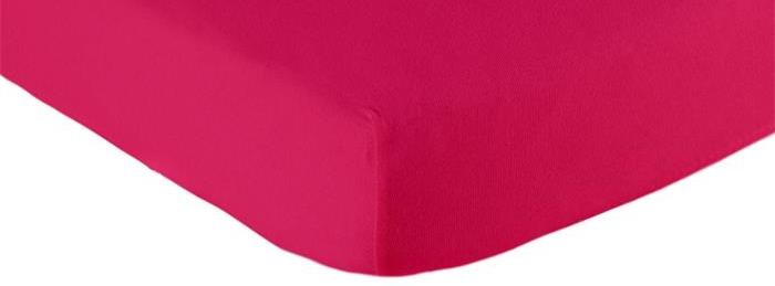 Briljant Baby Hoeslaken Jersey 90x200 - Fuchsia