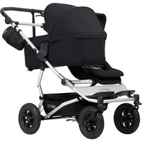 Mountain Buggy Duet As Single V3 + Familypack - Black
