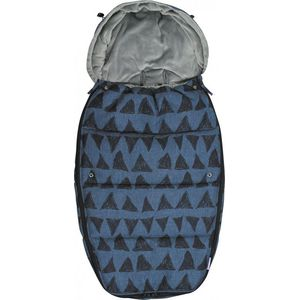 Dooky Voetenzak Large - Blue Tribal