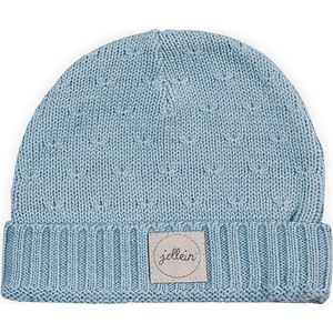 Jollein Muts Soft Knit - Soft Blue