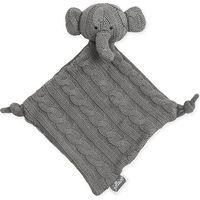 Jollein Knuffeldoekje Elephant - Cable Grijs
