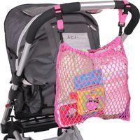 Minene Kinderwagen / Buggy Boodschappennet - Pink