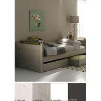 Alta Bedbank Dicht C49 - Snow White ( exclusief opbergladen)