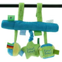 Label-label Stars Autostoel Activity - Blauw/Lime