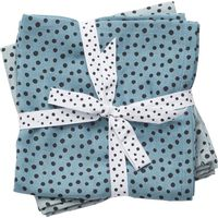 Done By Deer Omslagdoek 2 St. Happy Dots - Blauw