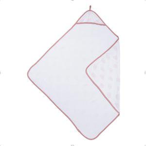 Badcape Geometric Heart Warm Pink - Meyco