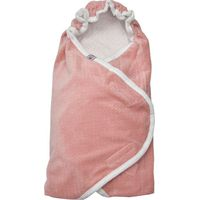 Wikkeldeken Autostoel Wrapper New Born Scandinavian Blush- Lodger