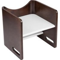 Bloom Pogo 3 in 1 Step Stool Cappuccino - White