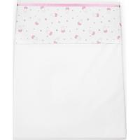 Briljant Baby Wieglaken 75x100 - Nijntje Old Pink