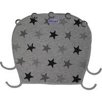 Dooky Universal Cover Design Zonnekap - Grey Stars