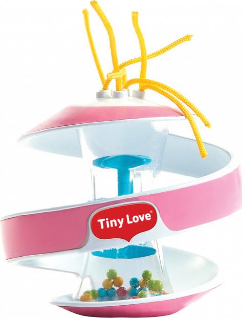 Tiny Love Inspiral Rainstick Ball - Pink
