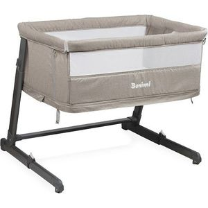 Baninni 2in1 Bed Side Crib Leya - Sand