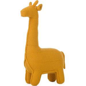 Vaco Giraffe Small Gebreid - Oker