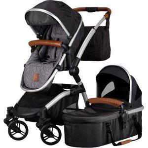 Born Lucky Kinderwagen Luxe Zwart