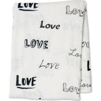 Lulujo Hydrofiele Doek Swaddle Bamboo - Love