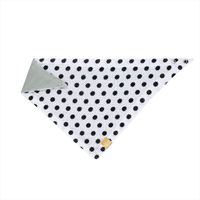 Lässig Slab Bandana Muslin Little Chums - Stars White