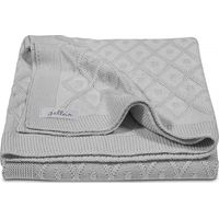 Jollein Deken 100x150cm Diamond Knit - Grey