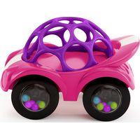 Oball Auto Rattle & Roll - Roze
