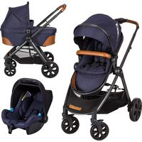X-Adventure Kinderwagen XLine V2 incl. Autostoel - Royal Blue