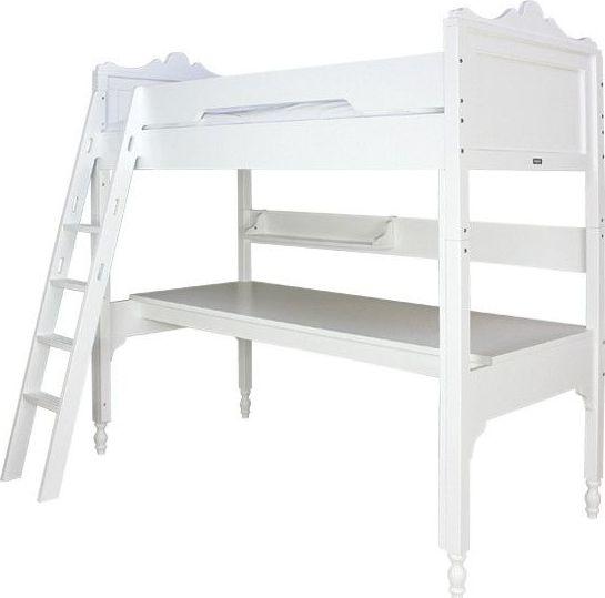 Bopita Bedsysteem Hoogslaper XL Belle Wit (schuine trap)