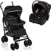 Baninni Buggy Messina Night Edition (Incl. Autostoel) - Zwart