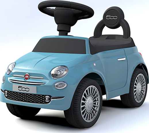 Happy Baby Loopauto Fiat 500 - Blauw