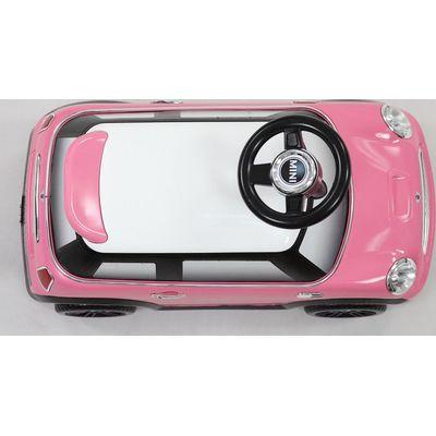 Loopauto Mini Cooper - Kees by Happy Baby (detialfoto, kleur wijkt af)