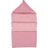 Koeka Voetenzak Wafel/Flanel Antwerp - Blush Pink (Maxi Cosi)