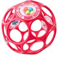 Oball Rattle - Rood