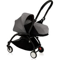 Yoyo+ Black Frame met Newborn Pack - Grey