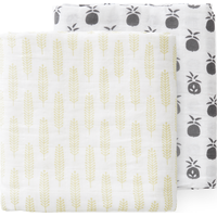 Fresk Swaddle Set 120x120cm Pineapple (UL)