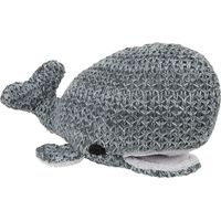 Baby's Only Knuffel Walvis River Antraciet/Grijs Melee