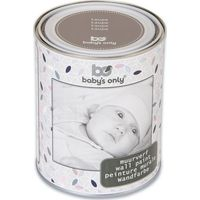 Baby's Only Muurverf 1 Liter-blik Taupe