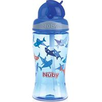 Flip-It Tritan Rietjesbeker 360 ml Blauw - Nuby