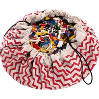 Speelgoedzak Play&Go Zigzag Red