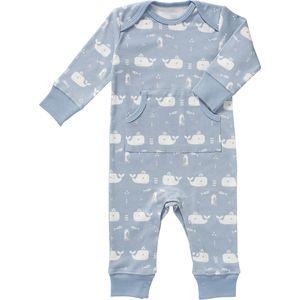 Fresk Pyjama Whale Blauw 3-6mnd