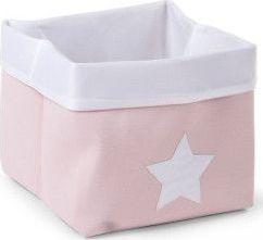 Childhome Canvas Plooimand 32x32x29 cm - Soft Pink White