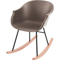 Kidsdepot Rocking Chair - Jazzy Warm Grey