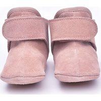 Lodger Leren Babyslofjes 6-12m Pink